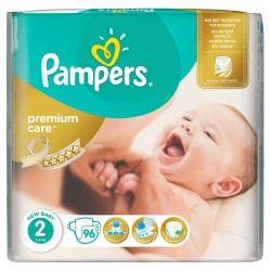 Pampers Premium Care Dětské pleny velikost 2 96 ks