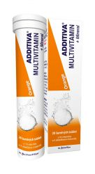Additiva Multivitamin + Mineral pomeranč 20 šumivých tablet