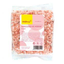 Wolfberry Himalajská sůl růžová hrubá 250 g