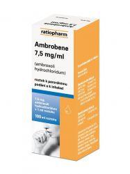 Ambrobene 7.5mg/ml  roztok 100 ml