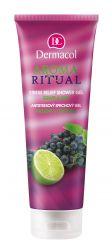 Dermacol Aroma Ritual Antistresový sprchový gel hrozny s limetkou 250 ml