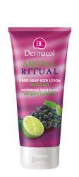 Dermacol Aroma Ritual Antistresové tělové mléko hrozny s limetkou 200 ml