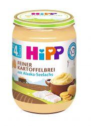 Hipp BABY Jemná bramborová kaše s aljašskou treskou 190 g
