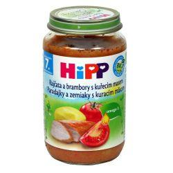 Hipp JUNIOR MENU BIO Rajčata a brambory s kuřecím masem 220 g