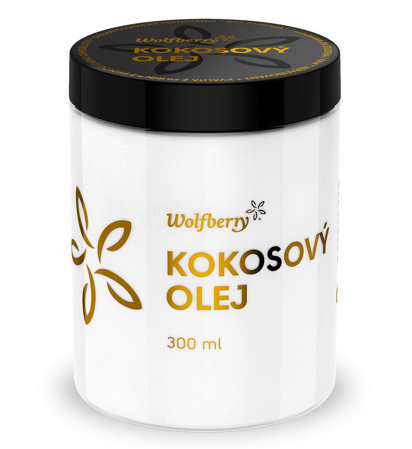 Wolfberry BIO panenský kokosový olej 300 ml