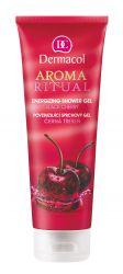 Dermacol Aroma Ritual Povzbuzující sprchový gel černá třešeň 250 ml