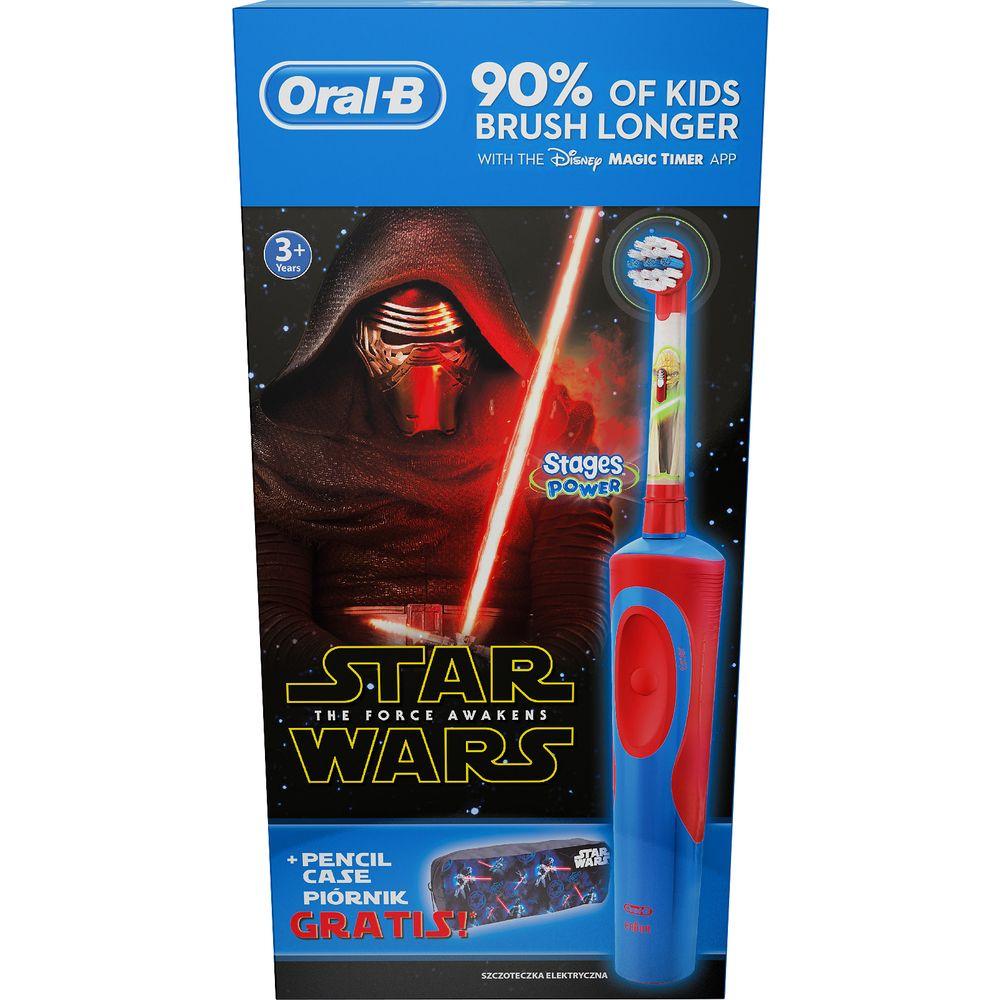 Oral-B VITALITY Star Wars Zubní kartáček + penál