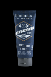 Benecos Sprchový gel 3v1 MEN 200 ml