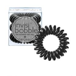 Invisibobble Original True Black gumička do vlasů 3 ks