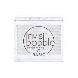 Invisibobble BASIC Crystal Clear gumička do vlasů 10 ks