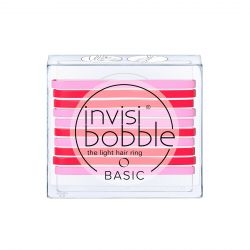 Invisibobble BASIC Jelly Twist gumička do vlasů 10 ks