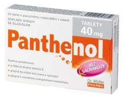 Dr.Müller Panthenol tablety 40mg tbl.24