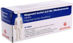 Medicamenta Magnesii lactici 0.5 tbl. 50 tablet