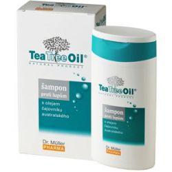 Dr. Müller Tea Tree Oil Šampon proti lupům 200 ml