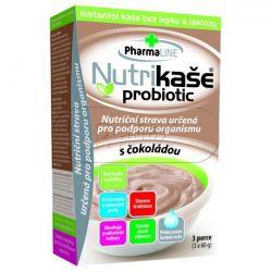 Nutrikaše probiotic s čokoládou 3 x 60 g