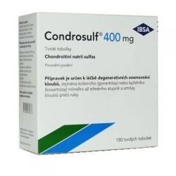 Condrosulf 400 180 tvrdých tobolek