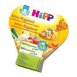 HIPP BIO DĚTSKÉ TĚSTOVINY Mini-Rigatoni zeleninové se smetanou 250g