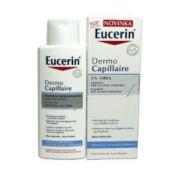 Eucerin Dermocapillaire 5% UREA Šampon na vlasy pro suchou pokožku hlavy 250 ml