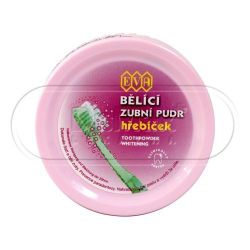 EVA Bělící zubní pudr - HŘEBÍČEK 30g - 3ks