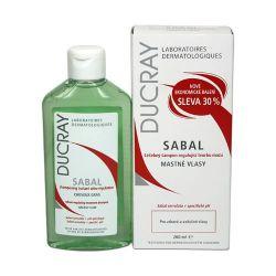 Ducray Sabal Šampon na mastné vlasy 200 ml
