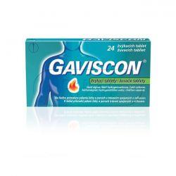 Gaviscon žvýkací tablety 24ks