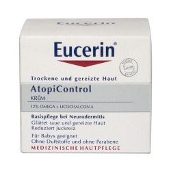 Eucerin Atopicontrol suchá svědící kůže krém 75 ml