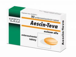 Aescin Teva 20 mg 90 tablet