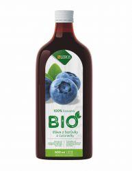 Leros BIO Šťáva z borůvky 500 ml