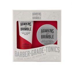 Hawkins & Brimble Pánský set krém na holení 100 ml + balzám po holení 125 ml