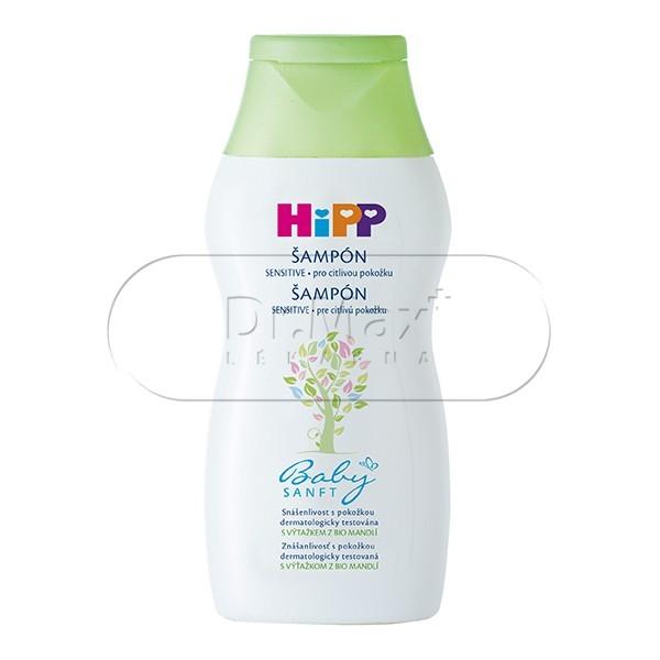 HIPP KOSMETIKA Dětský jemný šampon 200ml