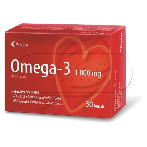 Noventis Omega-3 1000 mg 30 kapslí