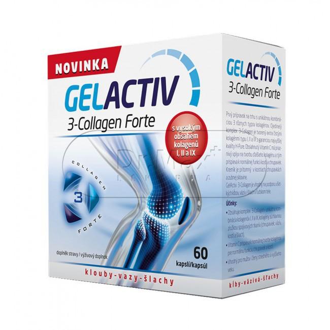 GelActiv 3-Collagen Forte 60 cps