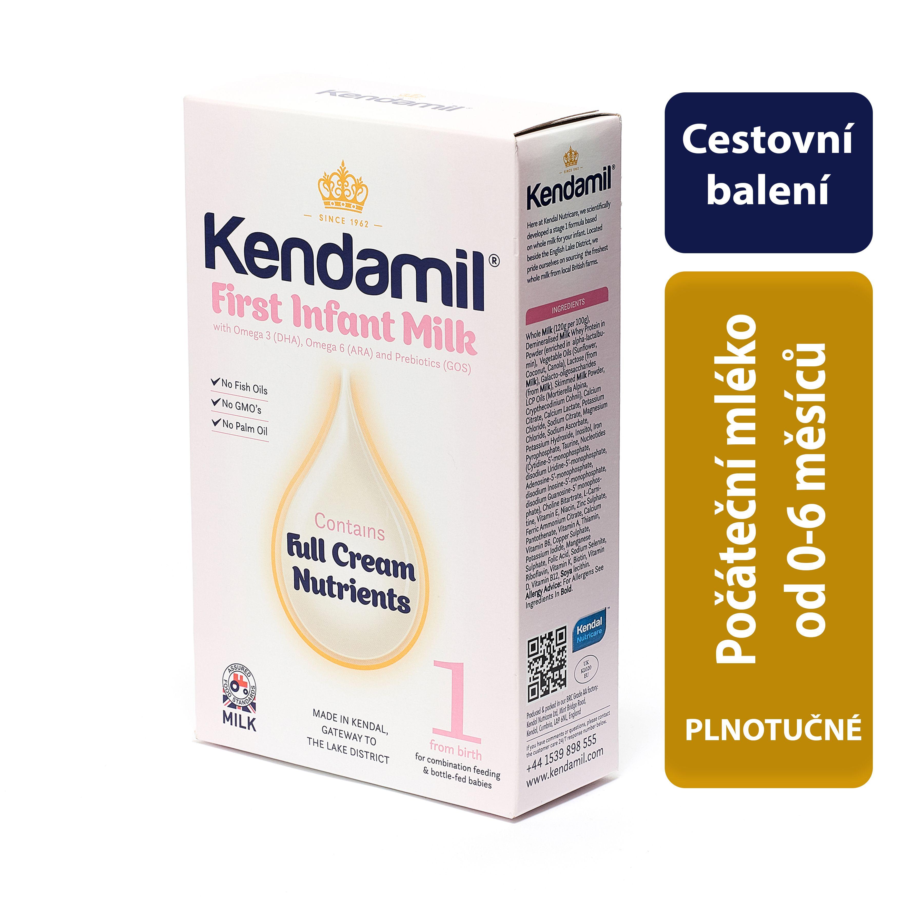 75f8745318c Kendamil 1 Kojenecké mléko počáteční 150 g
