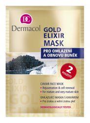 Dermacol Gold Elixír omlazující kaviárová maska 2 x 8 g