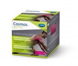 Cosmos Active Kinesiology 5 cm x 5 m tejpovací páska 1 ks růžová