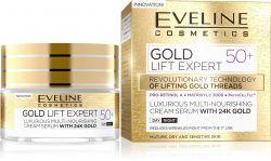 Eveline GOLD LIFT Expert denní/noční krém 50+ 50 ml