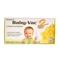 Arianna  Baby-Vac 2 Ergonomic odsávačka hlenů