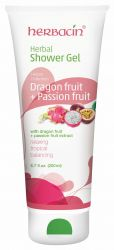 Herbacin Sprchový gel bylinný Dragon Fruit + Passion Fruit 200 ml
