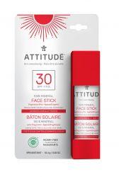ATTITUDE Ochranná tyčinka na obličej a rty SPF30 18 g