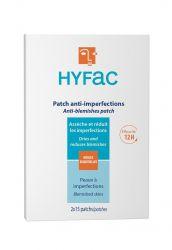 HYFAC Ošetřující náplasti na akné 2x15 ks