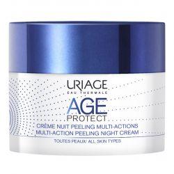 Uriage Age Protect Multi-Action Noční peelingový krém 50 ml