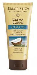 Erboristica Tělový krém s kokosovou vůní 200 ml