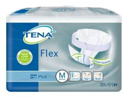 Tena Flex Plus Medium inkontinenční kalhotky 30 ks