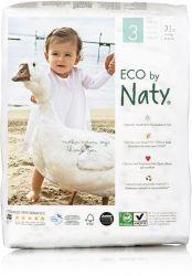 ECO by Naty Midi 4-9 kg dětské plenky 31 ks