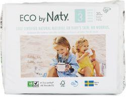 ECO by Naty Midi 4-9 kg dětské plenky 30 ks