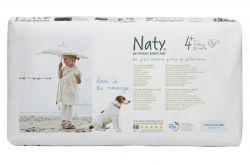 ECO by Naty Maxi+ 9-20 kg dětské plenky eco-pack 44 ks