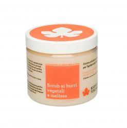Biofficina Toscana Peeling s rostlinným máslem a meduňkovým olejem 200 g
