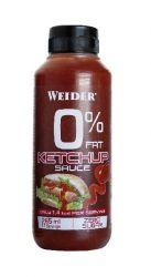 WEIDER 0 % Fat Ketchup omáčka dochucovadlo 265 ml