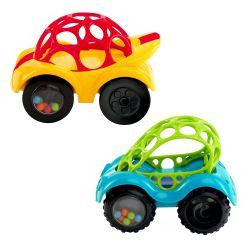 Brightstarts OBALL Rattle&Roll 3m+ autíčko 1 ks