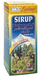 Fytopharma Bylinný sirup Tatranská průdušková směs bez cukru 100ml